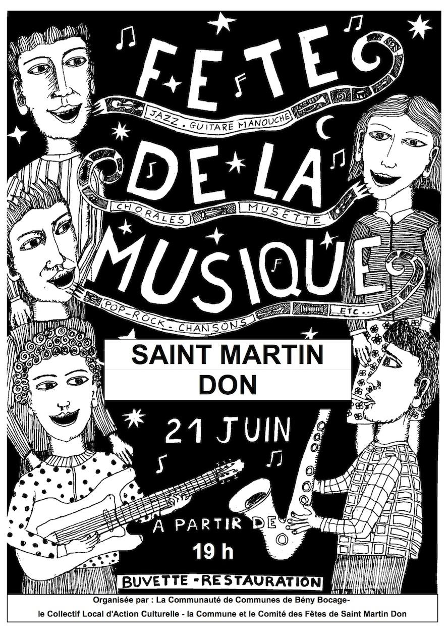 Fete de la musiquesaint martin don 1